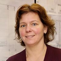 Helene Åhsberg är projektledare på SKB för tillståndsprövningen och spindeln i nätet när det gäller kontakter med de granskande myndigheterna.